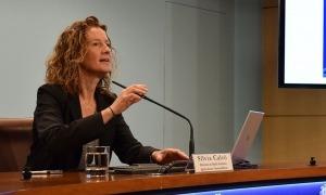 La ministra de Medi Ambient, Agricultura i Sostenibilitat, Sílvia Calvó, en una compareixença anterior.