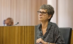 La consellera general i presenta del PS, Susanna Vela.