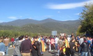 Tallen la C-14 i la N-260 a la Seu d'Urgell per l'aturada a Catalunya