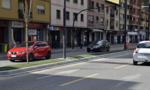 ANA/Així ha quedat la nova mitjana de l'avinguda Tarragona.