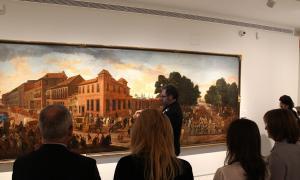 ANA/Inauguració de l'exposició actual al Museu Carmen Thyssen Andorra, 'Allées et venues'.