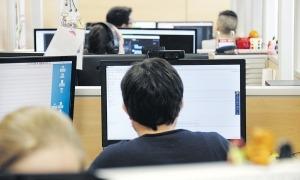El percentatge del personal de les empreses que utilitza les TIC és del 79%.