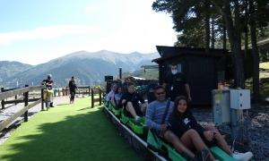Visitants a les instal·lacions de Naturlandia aquest estiu