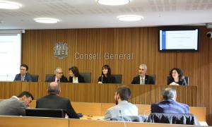 Compareixença de la ministra de Turisme, Verònica Canals, davant de la comissió legislativa d'Economia.