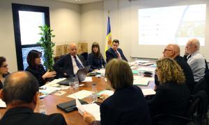 ANA/ Un moment de la reunió de treball dels representants d'universitats de petits estats i territoris.