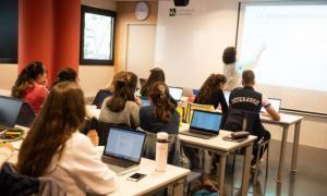 Estudiants de la Universitat d'Andorra.