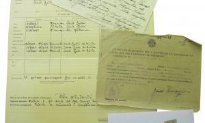 Andorra, Arxiu Nacional, arxiu intermedi, passaports, Francesc Cairat, Julià Reig, doctor Nequi, Anna Cia, Anna Farnés