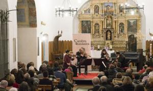 El Cosmos Quartet, en acció a Sant Serni de Canillo.