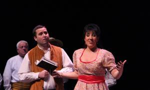 Jonaina Salvador, a 'L'Elisir d'amore' d'Andorra Lírica, el gener passat al Claror