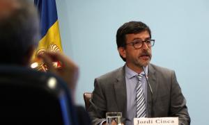 El ministre portaveu i de Finances, Jordi Cinca.