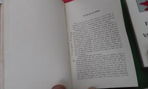 Primera pàgina del capítol andorrà dels 'Viajes' de Wenceslao Fernández Flórez, exhumat a l'Antic Rossell.