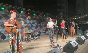 Maruja Limón, el 15 d'agost a plaça Coprínceps: hi van assistir 1.220 espectadors.