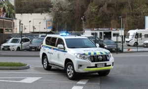 La intervenció de la policia va tenir lloc el cap de setmana a Encamp.