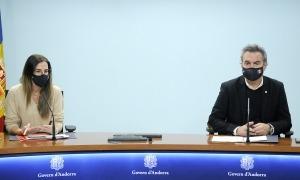 La ministra i el secretari d'Estat han anunciat avui el canvi de format de la Nit, degut al coronavirus.