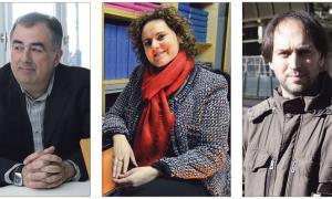 Tres autors i tres novetats: Caus ('Repetició i diferència'), Lacueva ('Mort sota zero') i Franch ('La capsa de música').