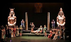'La Corte de Faraón' es va estrenar al maig al Claror, en la cloenda de la temporada d'òpera d'Andorra Lírica.