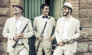 Naüm Monterde, Oriol Garcia i Carlos Moliner són Una Cosa Rara.