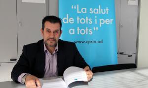 El president del Col·legi de Psicòlegs, Òscar Fernández.