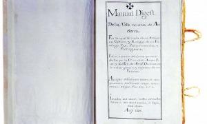 Fiter i Rossell parlarà en anglèsCòpia del 'Manual Digest' procedent de l'Armari de les Sis Claus que avui es conserva a l'Arxiu Nacional.