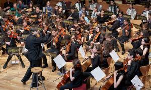 L'edició de l'any passat del concert de primavera de la Jonca a l'Auditori Nacional.