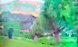 Andorra, Joaquim Mir, oli, Anserall, Tarragona, col·leccionista, quadre, pintura