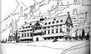 Andorra, Puig i Cadafalch, Antoni Pol, Any Puig i Cadafalch, hotel Valira, Sant Esteve, Casa Lacruz