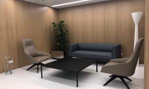 Interior de la nova oficina.
