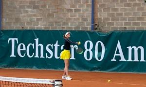 Vicky Jiménez perd al partit de dobles de quarts a Amiens