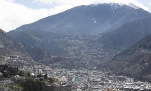 Vista general d'Andorra la Vella.