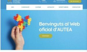 Imatge de la nova web d'Autea.