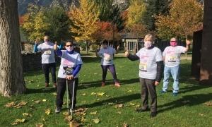 Els participants han enviat les fotos amb la samarreta de la Caminada.
