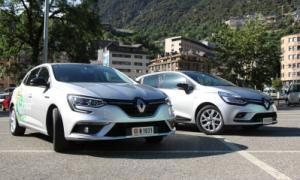 Els dos models de Renault que ofereix el grup Becier.