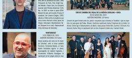 Programa d'Ski & Concert, on es concentren les quatre propostes de gran format del nou Ordino Clàssic.