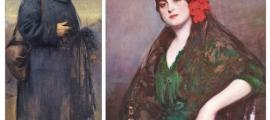 'Autoretrat', amb el pintor vestit amb la capa de 'pìlou', el soldat ras francès e la I Guerra Mundial (1918), i 'Rosarito', els dos Cases de Crèdit que s'exposen des d'avui a ArtalRoc.
