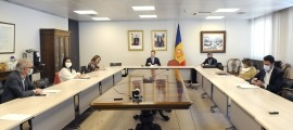 Reunió del cap de Govern amb els set cònsols.