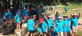 Participants en una edició anterior de les activitats d'estiu d'Encamp.