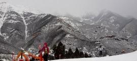 Esquiadors a les pistes de Pal Arinsal.