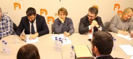 Un moment de la darrera executiva de Demòcrates per Andorra.