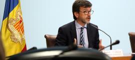 El ministre de Finances, Jordi Cinca.