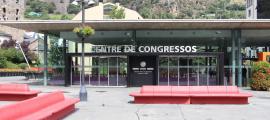 El Centre de congressos d'Andorra la Vella.