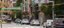 Retencions de vehicles a Sant Julià de Lòria.