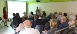 Un moment del taller sobre 'Els avantatges de l'e-crèdit' celebrat aquest dimecres.