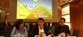 Moment de la presentació de l'Ordino Clàssic.
