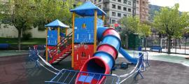 El parc del Prat Gran, clausurat per actes de vandalisme.