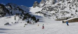 Esquiadors a Vallnord Ordino-Arcalís la temporada passada.