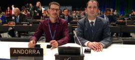 La delegació andorrana a la COP 24.