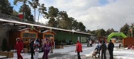 Visitants de Naturlandia a l'hivern.