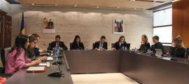 Un moment de la sessió de consell de comú d'Ordino d'aquest dijous.