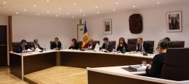 Un moment de la sessió de consell de comú d'Andorra la Vella celebrada aquest divendres al matí.