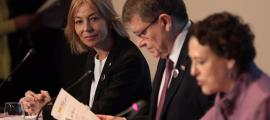 Ester Fenoll, durant la Conferència de ministres de treball d'Iberoamèrica a Madrid.